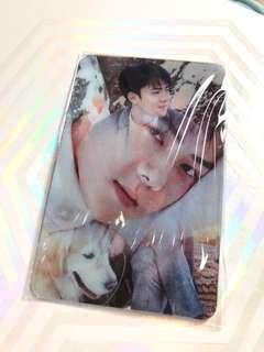 SEHUN OFFICAL NATURE REPUBLIC LENTICULAR CARD