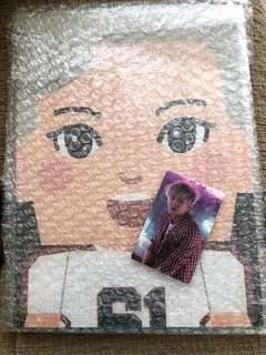 CHANYEOL LIMITED EDITION PAPER TOY