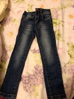$150 5條3-4歲牛仔褲