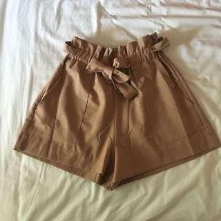 BNWT Luvalot Paperbag Shorts