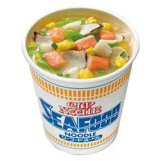 日版合味道海鮮杯面