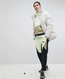Nike popper pants
