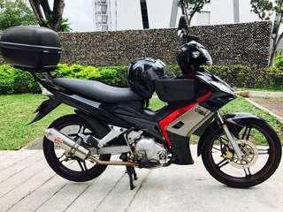 Yamaha Spark T135 (Clutchless)