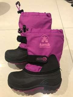 Kamik Rocket Cold Weather/ Snow Boots (Pink - Waterproof) size 11