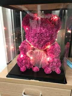 玫瑰花熊仔 送比女朋友、媽媽一流