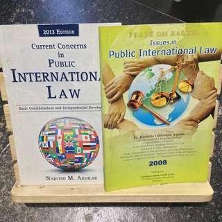 Public International Law books