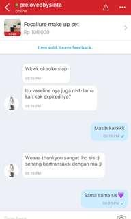 Testi make up focallure