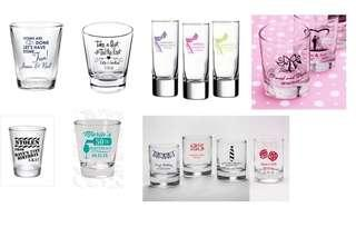 Personalized Shot Glass for Any Event