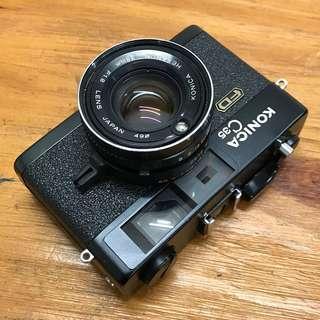 Konica C35 FD rare black 38/1.8