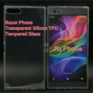 🚚 Razer Tempered Glass / Silicon TPU