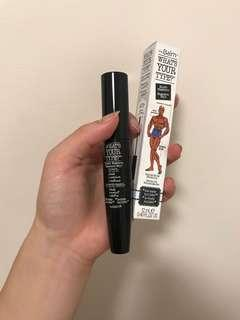 the balm what's your type black mascara