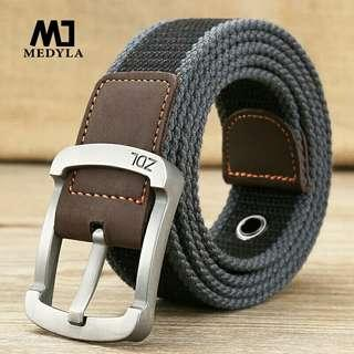 High Quality Canvas Belts For Male Army Colortactical Belt Mens Military Waist Canvas Belts Cummerbunds High Quality Belts No223 Apparel Accessories