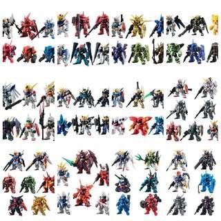 FW Gundam Converge #1-#12 日版12套