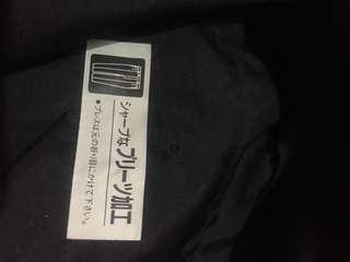 Black straight keg cullotes size 28-29