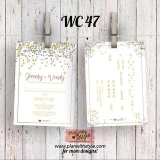 Wedding Card WC47