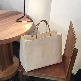 簡約 tote bag