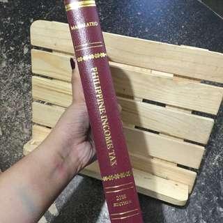 Philippine Income Tax law book