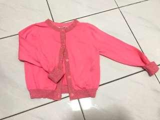 Cotton on Pink Cardigan