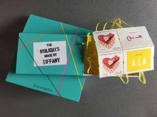 Tiffany 郵票2張(本地郵資)