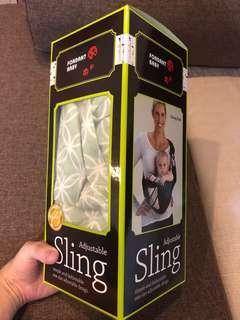 Fondant baby adjustable sling