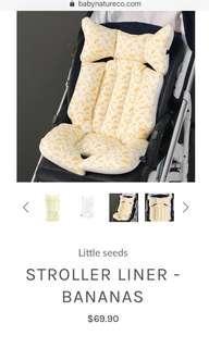 Little Seeds baby stroller liner