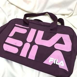 Fila 紫色 大旅行袋 travel bag