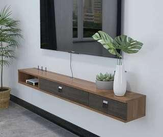 1.2m / 1.6m Wall Mount TV Console