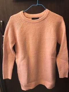 粉紅色冷衫 pink sweater forever 21