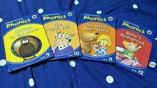 Ladybird collection of phonics and stories.