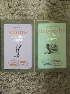 Dictionary of Idioms / Proverbs and their origins