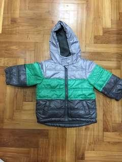Fox Baby Winter Jacket (inner fleeced lined)