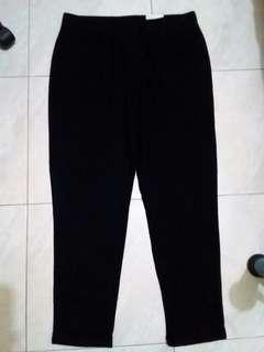 NEW Sonoma Hitam Black Casual Sweatpants Pants Celana