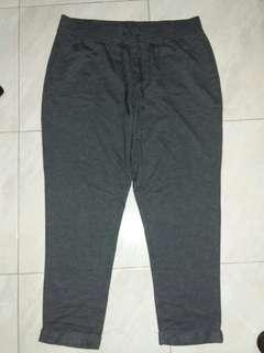 NEW Sonoma Dark Grey Casual Sweatpants Pants Celana