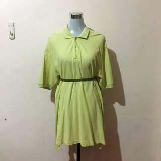 BOSSINI Mint Green Polo Dress
