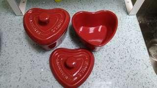 💗Staub - Lacocotte ( 糖水盒子) 约10 cm