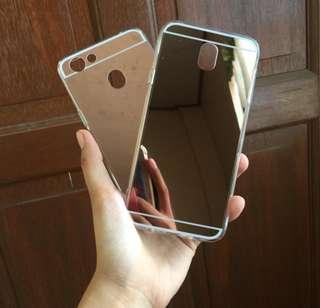 OPPO F3 Mirror Case (Silver)