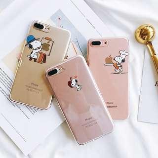 [PO] snoopy cute cartoon tpu soft case cover