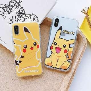 [PO] cute pikachu cartoon tpu soft case cover