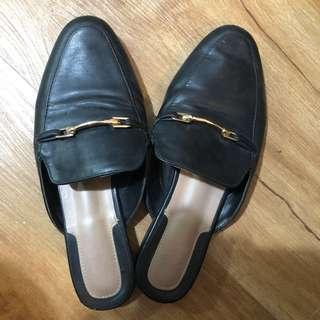 Bata Leather Mules