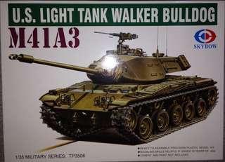 1/35 M41A3 Walker Bulldog US Light Tank