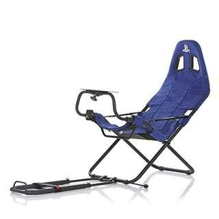 <Pre-order> Playseat Challenge Playstation Limited Edition Foldable Racing Wheel Stand 可折疊車架Playstation藍色限量版