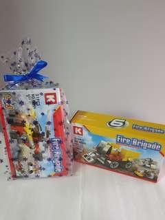 Engineering fire brigade transformers building blocks - OUT OF STOCKS