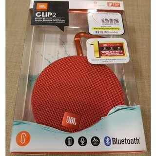 JBL Clip2 0 Portable Bluetooth Speaker for Sales
