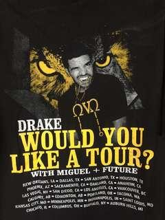 T-Shirt Drake OVO Tour