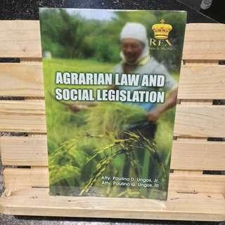 Agrarian Law Book