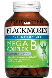 Blackmores Mega B Complex 複合維生素 200粒