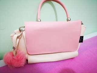 泰國RIYA 包包 手袋 粉紅
