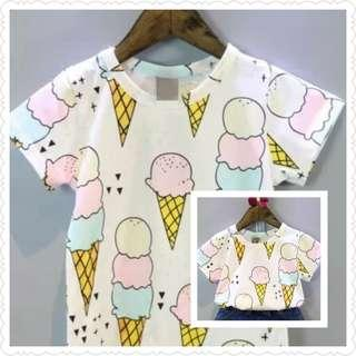 *Clearance Offer* Ice Cream Printed Tee