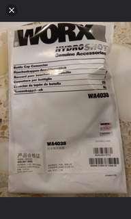 Worx hydroshot water bottle adaptor.