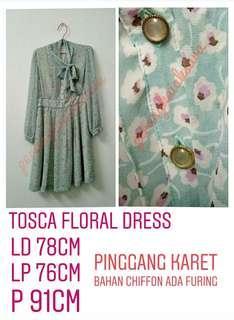 vintage tosca floral dress